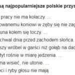 Jakie są popularne polskie przysłowia
