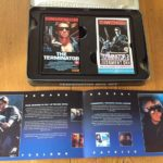 TERMINATOR, TERMINATOR 2 LIMITED EDITION BOX SET VHS